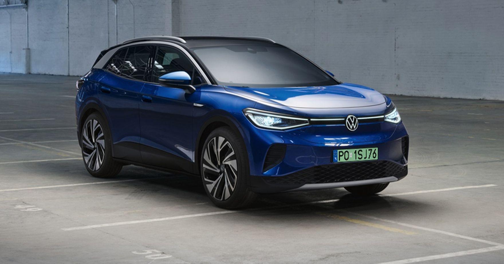 Sto procent SUV-a w elektrycznym wydaniu. Nadjeżdża Volkswagen ID.4!