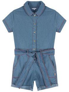 Little Marc Jacobs Kombinezon W14228 D Niebieski Regular Fit