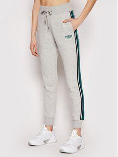 Guess Spodnie dresowe O1RA32 FL03Y Szary Regular Fit