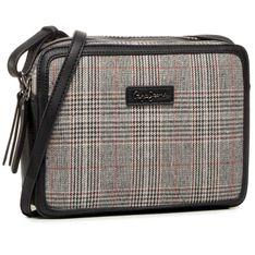 Torebka PEPE JEANS - Grace Shoulder Bag PL031194 Stone Black 991