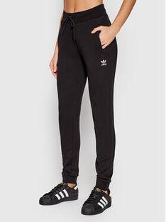 adidas Spodnie dresowe adicolor Essentials H37878 Czarny Slim Fit