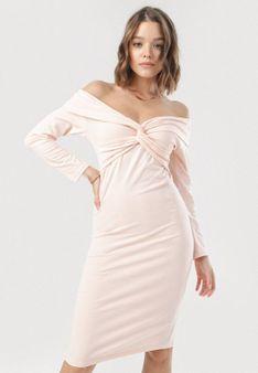 Jasnoróżowa Sukienka Aninise