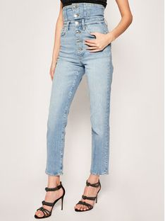 Guess Jeansy Slim Fit Girl Pin Up W02A06 D3LD2 Niebieski Slim Fit