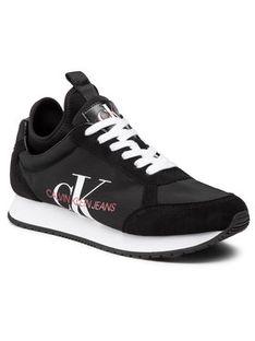 Calvin Klein Jeans Sneakersy Jongi B4S0737 Czarny