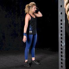 Top do treningu crossowego damski