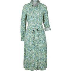Sukienka Bonprix na co dzień casualowa z długim rękawem w abstrakcyjnym wzorze