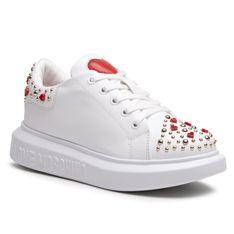 Sneakersy LOVE MOSCHINO - JA15224G1CIA0100  Bianco