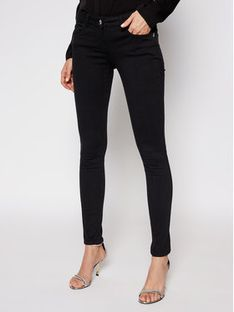 Patrizia Pepe Jegginsy CJ1186/AS04-K103 Czarny Skinny Fit