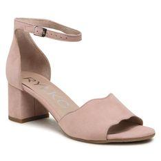 Sandały RYŁKO - 5DDB1_T8 Różowy 2NT