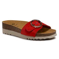 Klapki SCHOLL - Malibu' Mule F29318 1051 350 Red