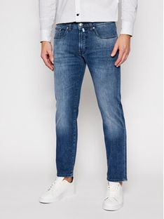 Pierre Cardin Jeansy Slim Fit 30031/000/1502 Granatowy Slim Fit
