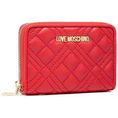 Duży Portfel Damski LOVE MOSCHINO - JC5602PP1CLA0500  Rosso