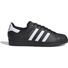 Buty sportowe damskie Adidas na płaskiej podeszwie bez wzorów na wiosnę sznurowane