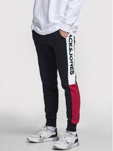 Jack&Jones Spodnie dresowe Will 12197199 Granatowy Regular Fit