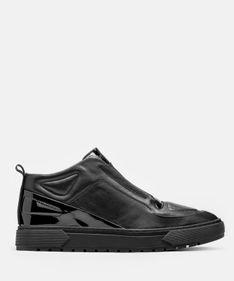 Czarne sneakersy męskie
