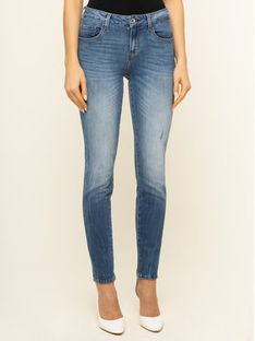 Guess Jeansy Skinny Fit Annette W01A99 D3XR1 Granatowy Skinny Fit
