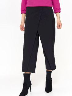 Eleganckie spodnie w nowoczesnym fasonie, o długości siedem ósmych