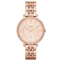 Zegarek FOSSIL - Jacqueline ES3546 Rose Gold/Rose