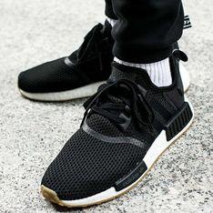 Adidas buty sportowe męskie sznurowane czarne