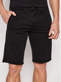 Guess Szorty materiałowe M1GD18 WDT21 Czarny Regular Fit