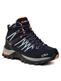 CMP Trekkingi Rigel Mid Wmn Trekking Shoes Wp 3Q12946 Granatowy