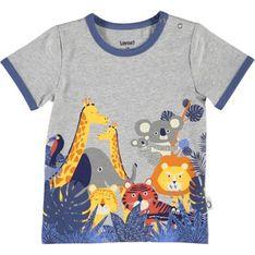 Odzież dla niemowląt szara Lamino