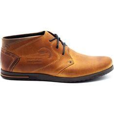Buty zimowe męskie Polbut sznurowane