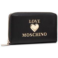Duży Portfel Damski LOVE MOSCHINO - JC5622PP1CLF0000  Nero