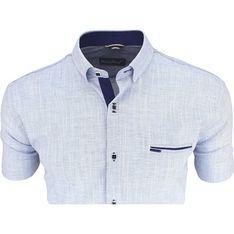 Koszula męska Megafinest niebieski