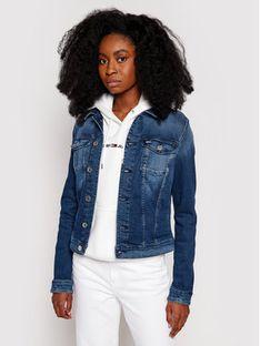Tommy Jeans Kurtka jeansowa Vivianne DW0DW09219 Niebieski Slim Fit