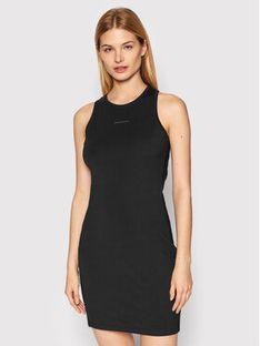 Calvin Klein Jeans Sukienka codzienna J20J215681 Czarny Slim Fit