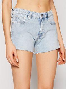 Calvin Klein Jeans Szorty jeansowe J20J215902 Niebieski Regular Fit