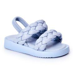 FR1 Dziecięce Sandały Ze Ściągaczem Błękitne Cutie-Pie niebieskie