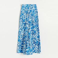 Reserved - Spódnica z EcoVero™ - Niebieski