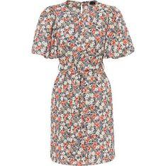 Sukienka Bonprix w kwiaty z krótkim rękawem mini