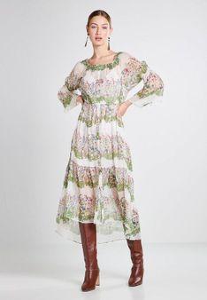 maje - Długa sukienka - zielony