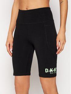 DKNY Sport Szorty sportowe DP0S4799 Czarny Slim Fit