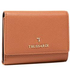 Duży Portfel Damski TRUSSARDI - Pre Lily Trifold 75W00280 B660