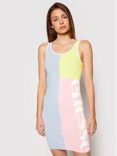 Ellesse Sukienka codzienna Sereta SGJ11881 Kolorowy Slim Fit