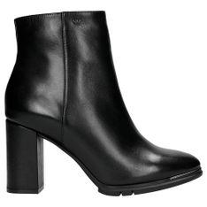Wojas Pełne Elegancji Czarne Zimowe Botki