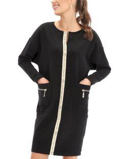 Kimonowa sukienka z kieszeniami Eye For Fashion LYRIC
