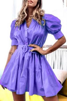 Sukienka BALOSA PURPLE