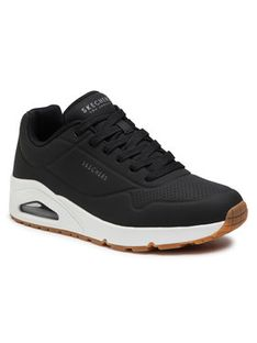 Skechers Sneakersy Stand On Air 52458/BLK Czarny