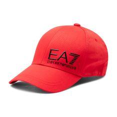 Czapka z daszkiem EA7 EMPORIO ARMANI - 275936 1P103 31474 Racing Red