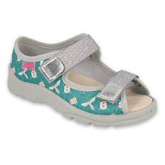 Befado obuwie dziecięce  869X166 szare zielone