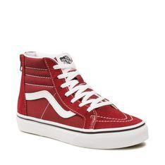 Sneakersy VANS - SK8-Hi Zip VN0A4BUX9AK1 Pomegranate/True White