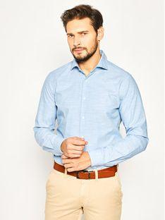 Strellson Koszula Sereno 30020157 Niebieski Slim Fit