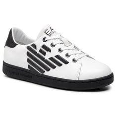 Sneakersy EA7 EMPORIO ARMANI - XSX006 XCC53 B139 White/Blue Notte
