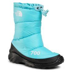Śniegowce THE NORTH FACE - Nuptse Bootie 700 NF0A4OAYVDE1 Transantarctic Blue/Tnf White