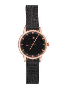 Zegarek z na metalowej bransolecie